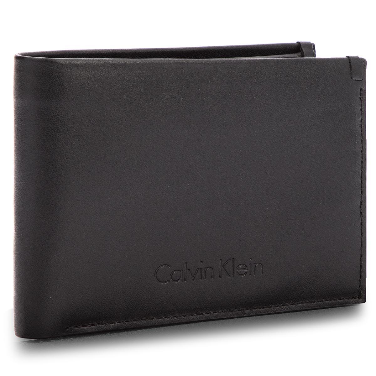 Nagy férfi pénztárca CALVIN KLEIN BLACK LABEL Prime Fold 5Cc+Coin  K50K503563 001 e24430183c