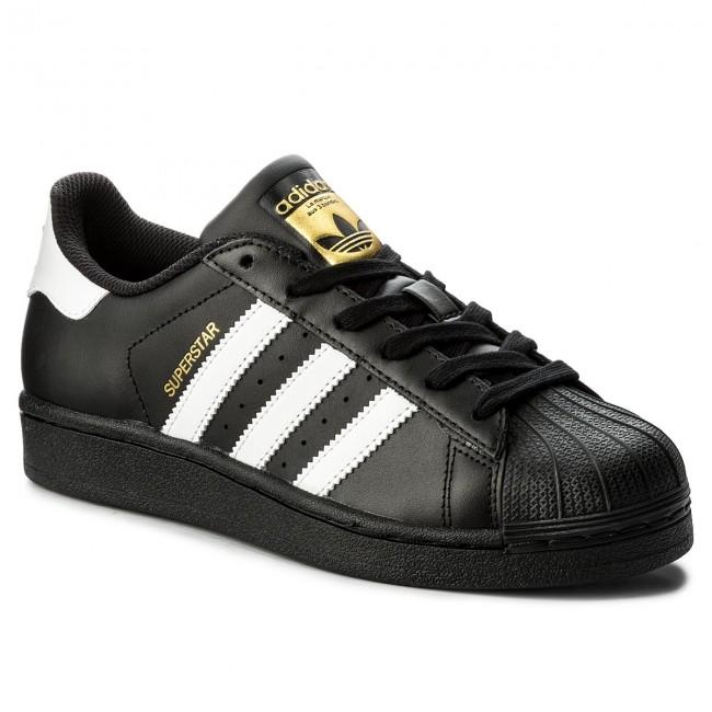 Cipő adidas - Superstar B23642 CBlack FtWht CBlack - Sneakers ... a69422ae10