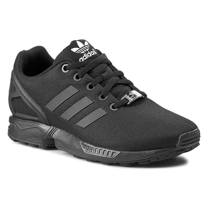 Cipők adidas - Zx Flux K S82695 Cblack Cblack - Sneakers - Félcipő ... 91b1636d88