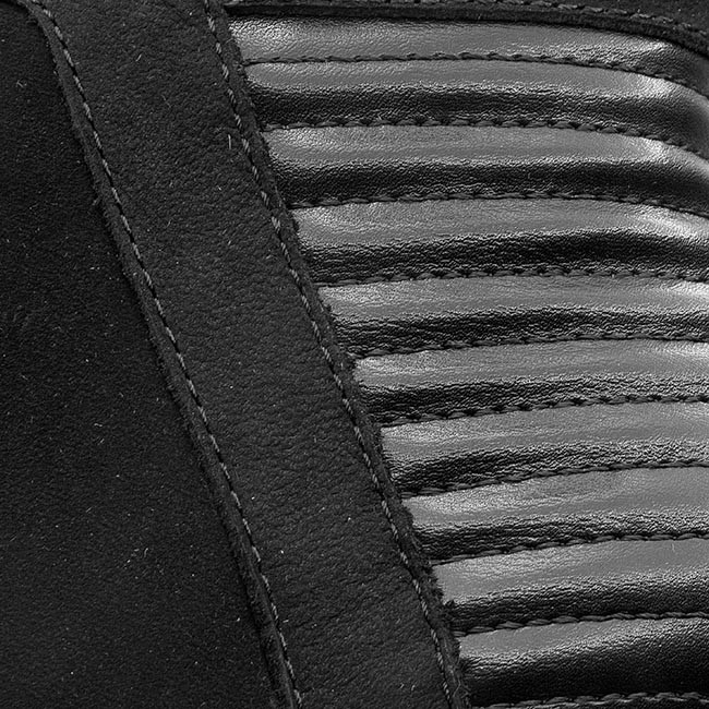 Magasított cipő CAPRICE - 9-25403-25 Black Nubuck 008 - Magasított ... 5cd12042c9
