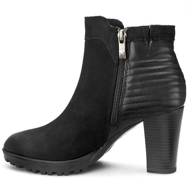 Magasított cipő CAPRICE - 9-25403-25 Black Nubuck 008 - Magasított cipők -  Csizmák és egyebek - Női - www.ecipo.hu 54525a3b95