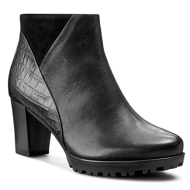 Magasított cipő GABOR - 32.861.17 Tropic Oil Kroko Vel Schwarz ... 73f501d4eb