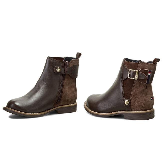 Magasított cipő TOMMY HILFIGER - Aubrey 2C FG56819681 M Coffee 211 ... 5a3c428578