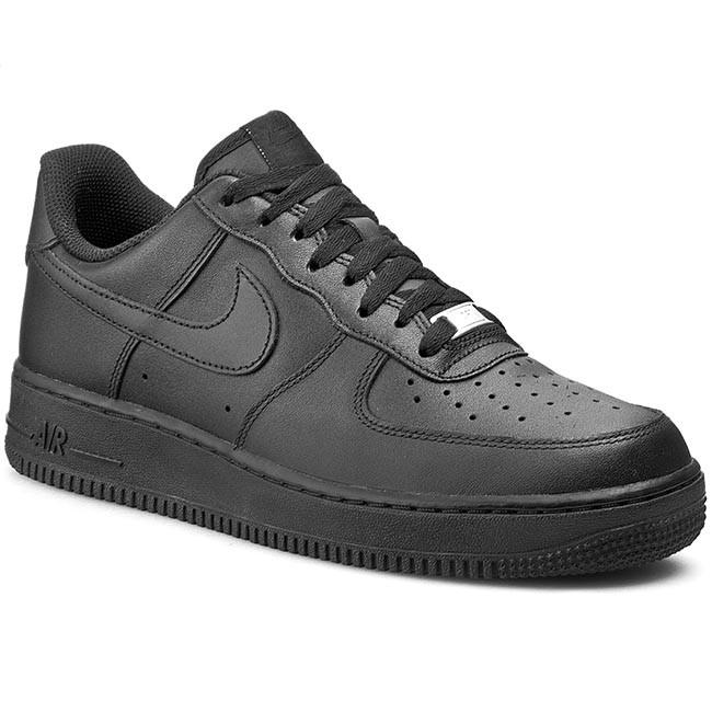 Cipők 315122 Air Nike 001 Sneakers 1 Félcipő Force '07 Black BoCxde