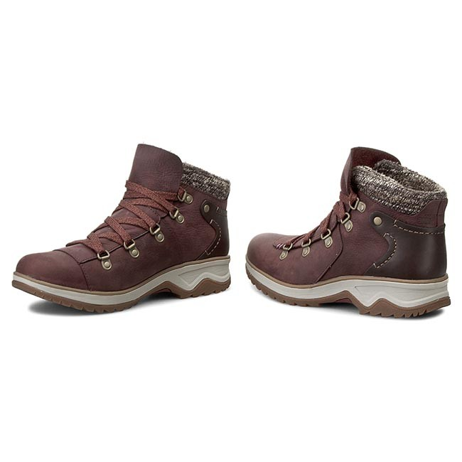 807fcc233c Bakancs MERRELL - Eventyr Bluff Waterproof J42398 Wine - Magas szárú ...