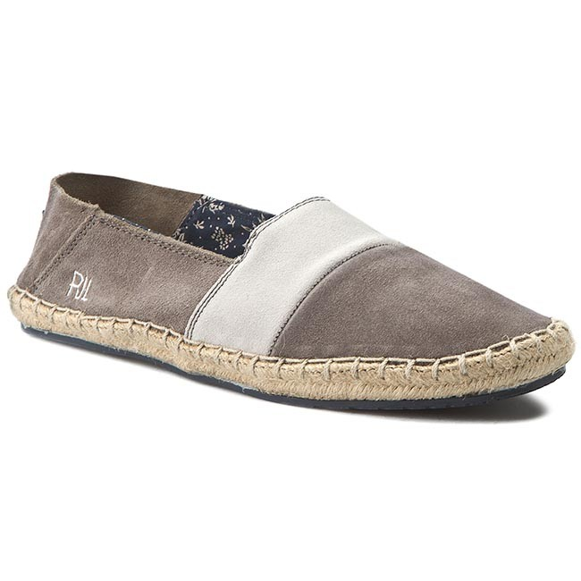 Espadrilles PEPE JEANS - Tourist Slip On Mix PMS10136 Grey 945 ... 3f7225f0d9