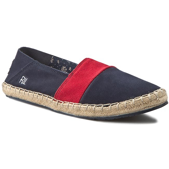 Espadrilles PEPE JEANS - Tourist Slip On Mix PMS10136 Marine 585 ... 3269ae86a5