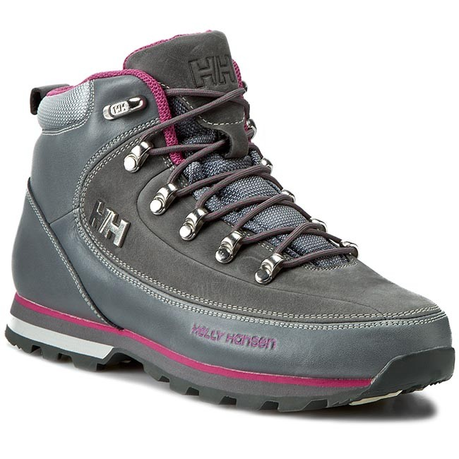 fc3923d882fc Bakancs HELLY HANSEN - W The Forester 105-16.723 Mid Grey/Hot Pink ...