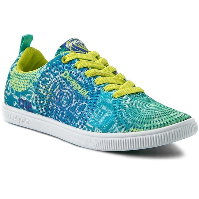 Teniszcipő DESIGUAL - Fun Eva L 60DS1B9 5165 Kék - Sneakers ... 69ebe2356e