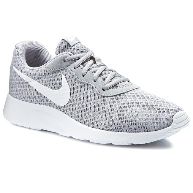 5ec3908b21 Cipők NIKE - Tanjun 812654 010 Wolf Grey/White - Sneakers - Félcipő ...