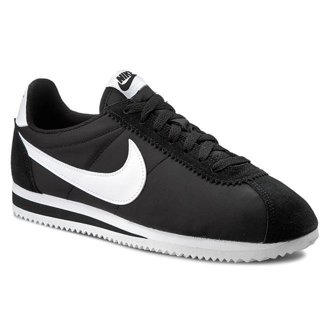 eac64558b35f Cipők NIKE - Classic Cortez Nylon 807472 011 Black/White ...