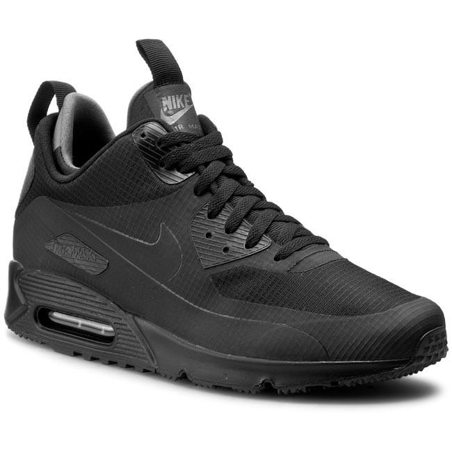 Cipők NIKE - Nike Air Max 90 Mid Wntr 806808 002 Black - Sneakers ... b848537d35