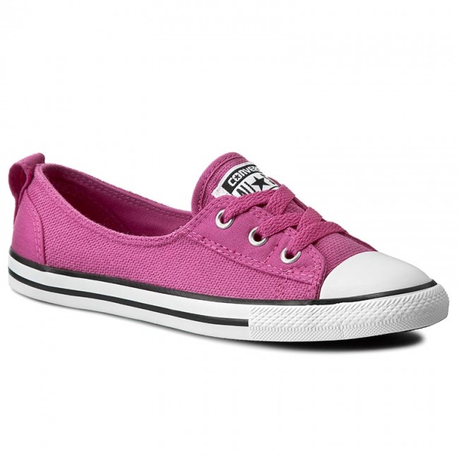 c3e0eaf6b6 Tornacipő CONVERSE - Ctas Ballet Lace Slip Plastic 551654C Plastic Pink