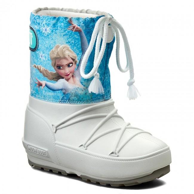 4836912f2f Hótaposó MOON BOOT - Pod Jr Frozen 34021100001 Bianco/Azurro ...