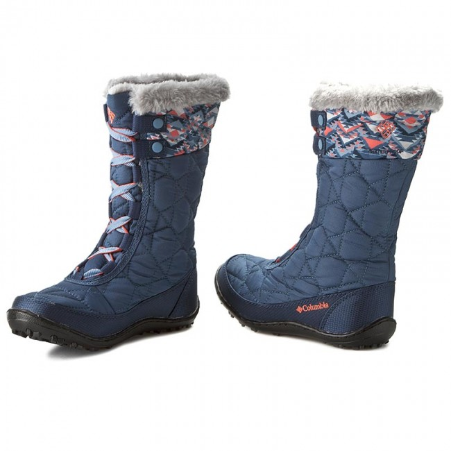 Hótaposó COLUMBIA - Youth Minx Mid II Waterproof Omni-Heat BY1336 Dark  Mountain Melonade 373a555f8f