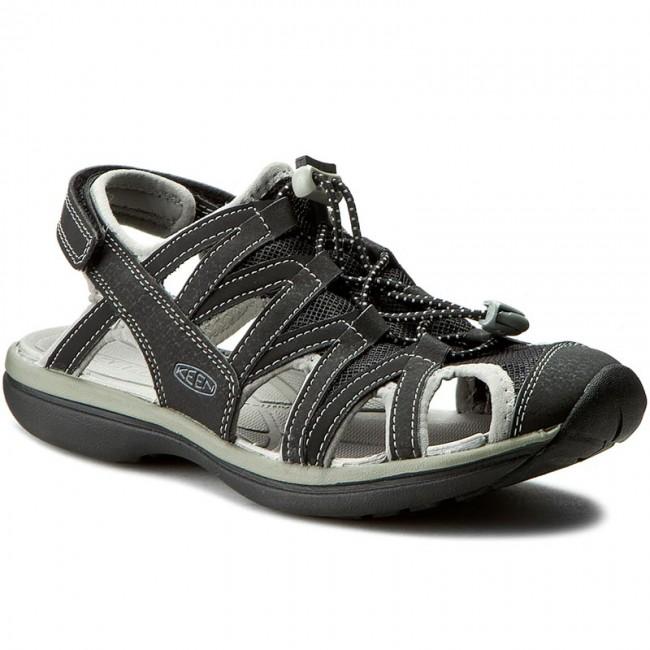 Szandál KEEN - Sage Sandal 1014682 Black Neutral Gray - Hétköznapi ... 1b1e6330c1