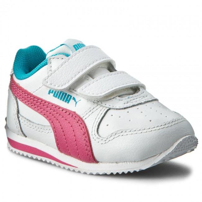 Félcipő PUMA - Fieldsprint L V Inf 354597 31 Puma White Fandango Pink 0367895e7f