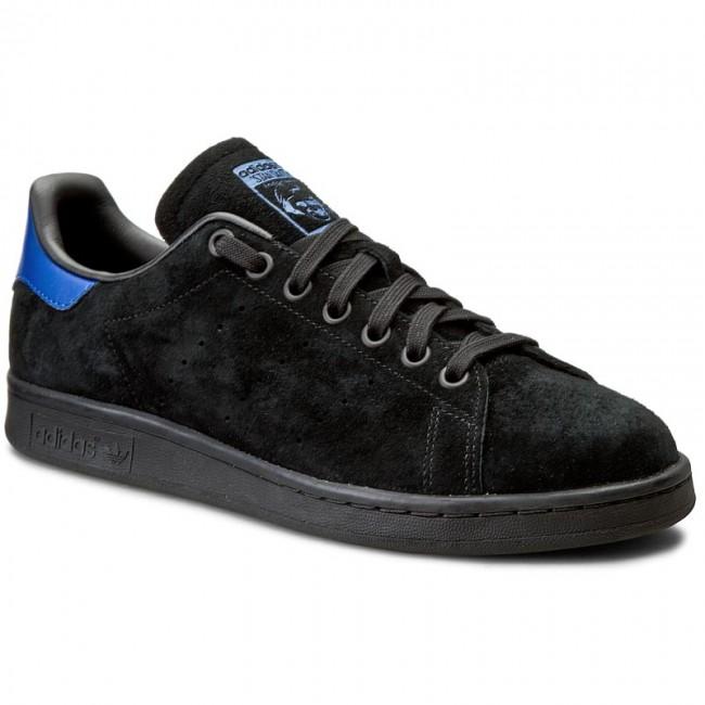 Cipők adidas - Stan Smith S80501 Cblack Cblack Croyal - Sneakers ... 89fa9b1e0d