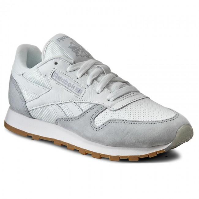 9a033c14ca Cipők Reebok - Cl Leather Spp AR2615 White/Grey/Black - Hétköznapi ...