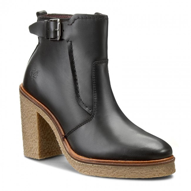 Magasított cipő MARC O POLO - 608 13536201 103 Black 990 ... d506b0ca88