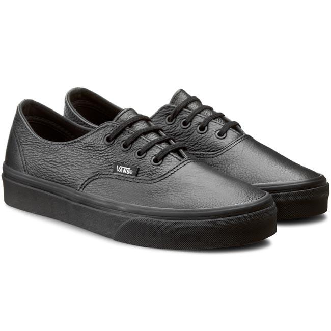 25f41699372b Teniszcipő VANS - Authentic Decon VN00018CGKM (Premium Leather) Black/Black  - Lapos - Félcipő - Női - www.ecipo.hu