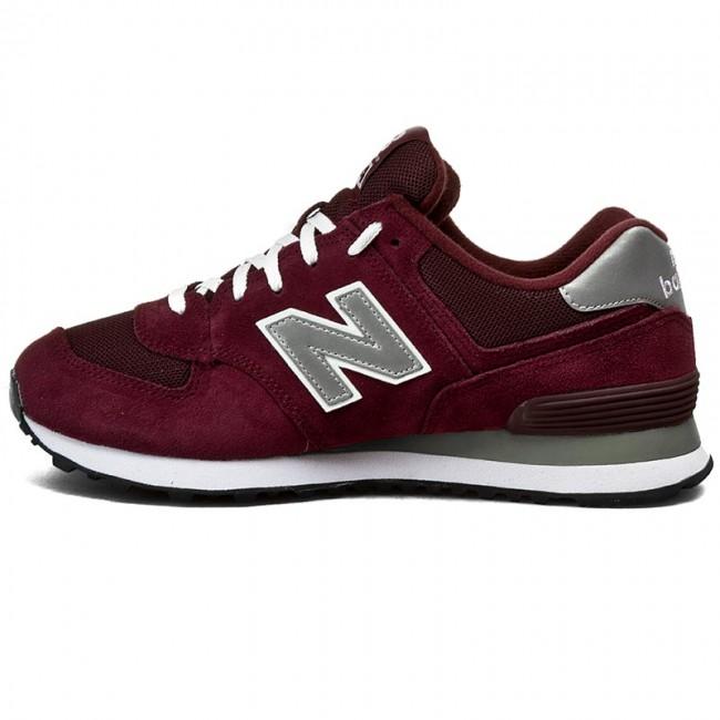Sportcipő NEW BALANCE - M574NBU Bordó - Sneakers - Félcipő - Férfi -  www.ecipo.hu 6d9745f019