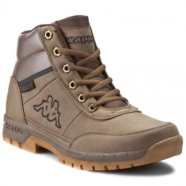 Bakancs KAPPA - Bright Mid Light 242075 Brown 5050 - Bakancsok ... d8166516da