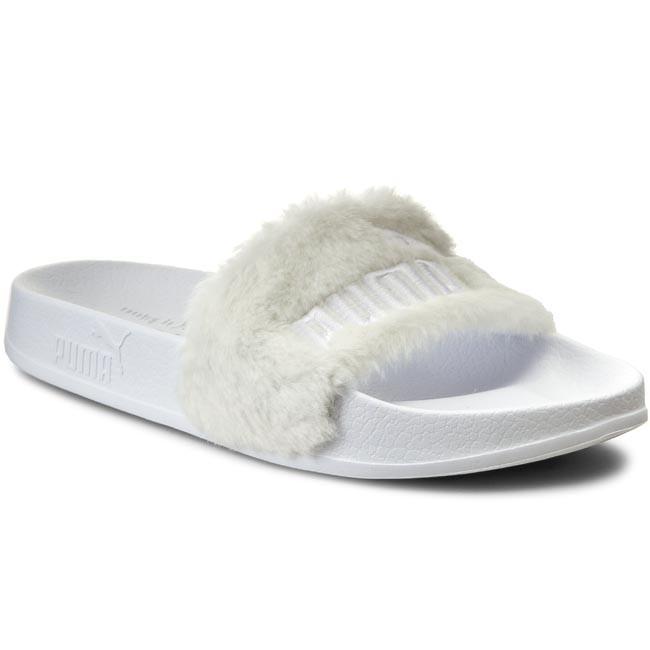 183786419d Papucs PUMA - By Rihanna Leadcat Fenty 362266 02 White/Puma Silver ...