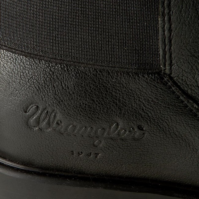 Magasított cipő WRANGLER - Gipsy Chelsea WL162613 Black 62 ... 41042198d8