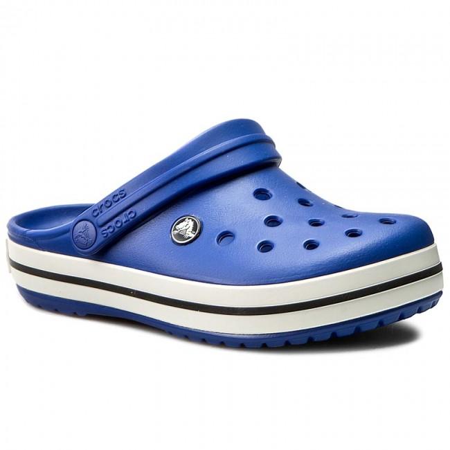 Papucs CROCS - Crocband 11016 Cerulean Blue Oyster - Sportos ... 625778e2e9