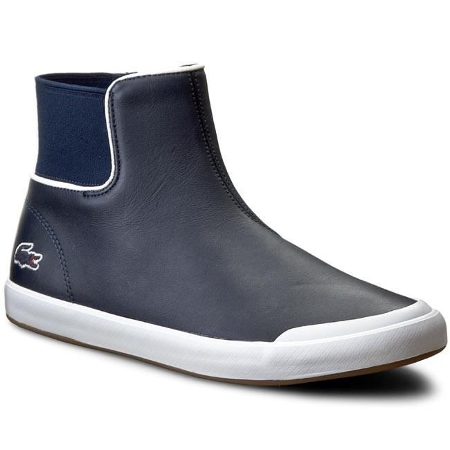 Magasított cipő LACOSTE - Lancelle Chelsea 316 1 7-32SPW0114003 Nvy ... 965654b391