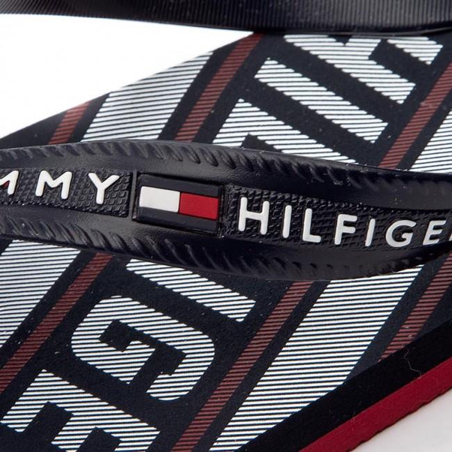552f4c1b0b Vietnámi papucsok TOMMY HILFIGER - Floyd 14R FM0FM00320 Midnight 403 ...