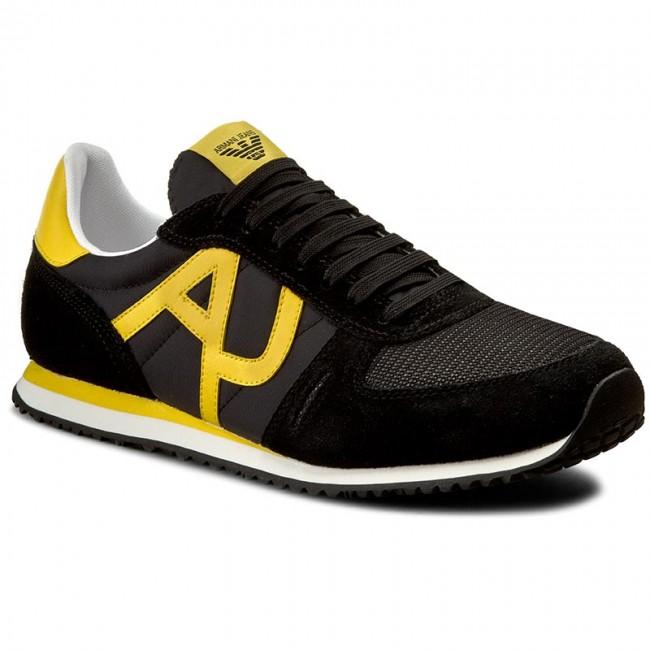 Sportcipő ARMANI JEANS - 935027 7P420 00020 Nero - Sneakers ... 0876d6f561