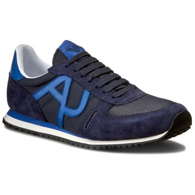 Sportcipő ARMANI JEANS - 935027 7P420 36435 Blue - Sneakers ... bab5dd36df