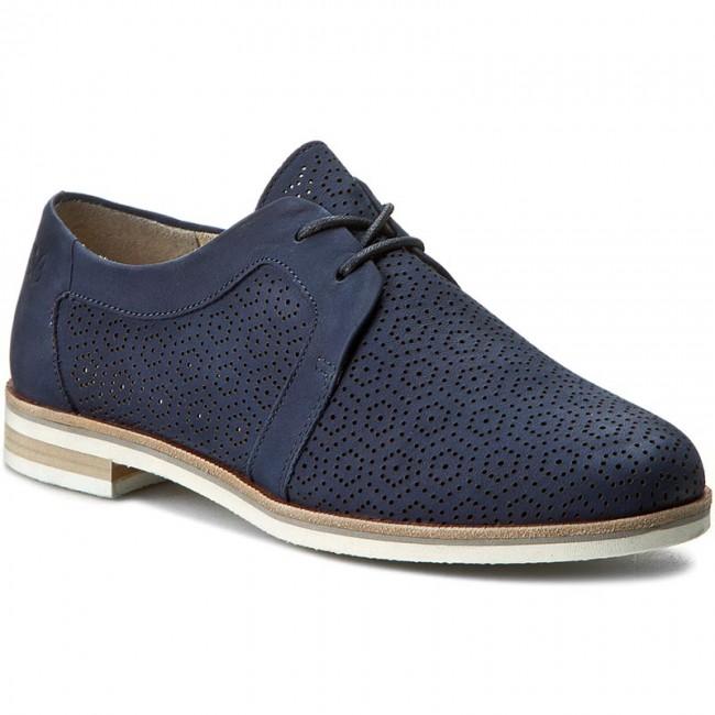 Oxford cipők CAPRICE - 9-23500-28 Ocean Nubuc 869 - Oxford - Félcipő ... 19b78b533d
