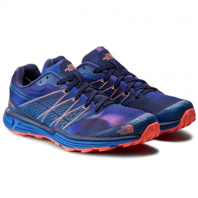 Cipők THE NORTH FACE - Litewave Tr T0CXU8GSL Patriot Blue Print Tropical  Coral - Túra bakancsok - Futócipők - Sport - Női - www.ecipo.hu 6badd99c46