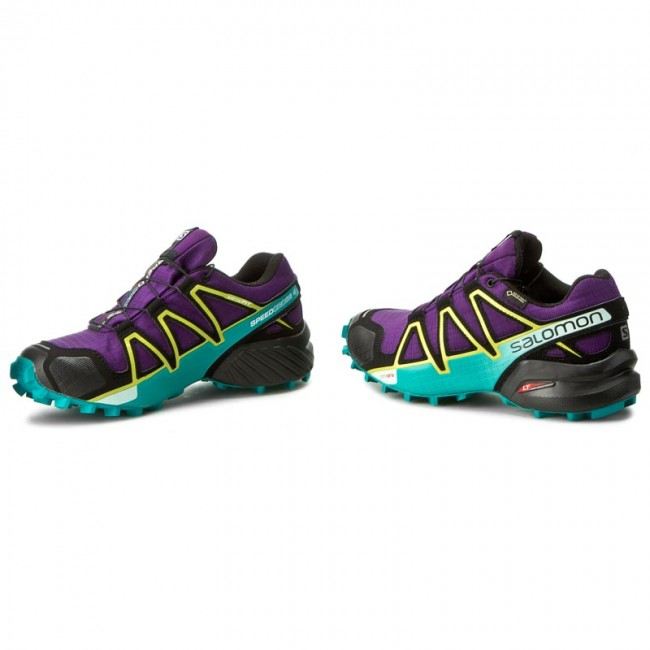 Cipők SALOMON - Speedcross 4 Gtx W GORE-TEX 392405 20 G0 Acai Deep ... 8d68be2db9