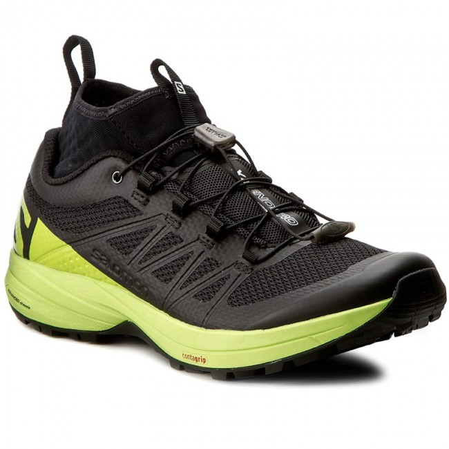 Cipők SALOMON - Xa Enduro 392407 27 G0 Black Lime Green Black - Túra ... 0ba7947100