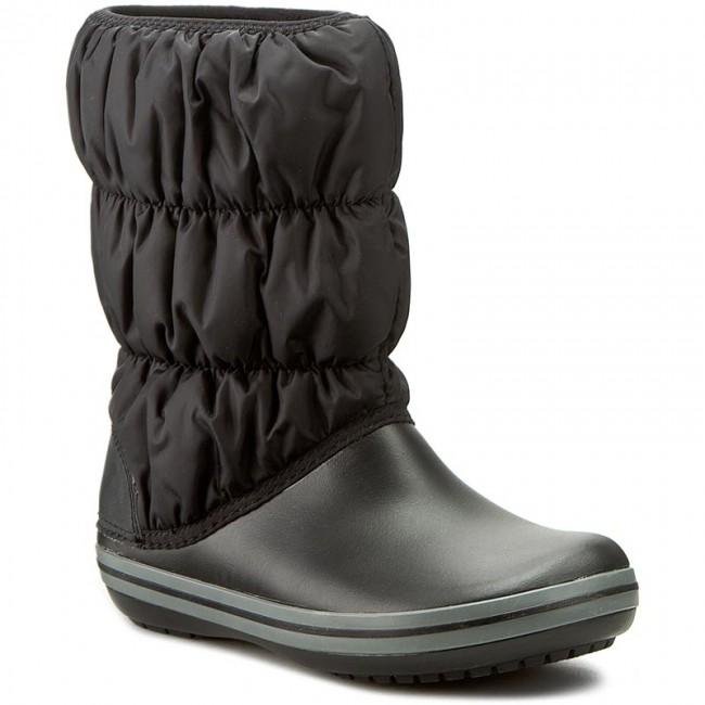 Hótaposó CROCS - Winter Puff Boot 14614 Black Charcoal - Bakancsok ... 56b40b4373