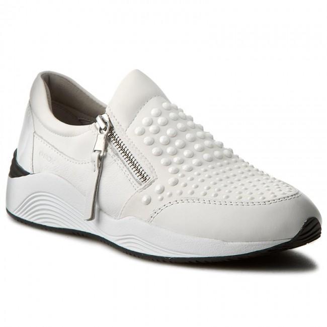 ad715e5c589e Sportcipő GEOX - D Omaya C D640SC 01585 C1000 Fehér - Sneakers ...