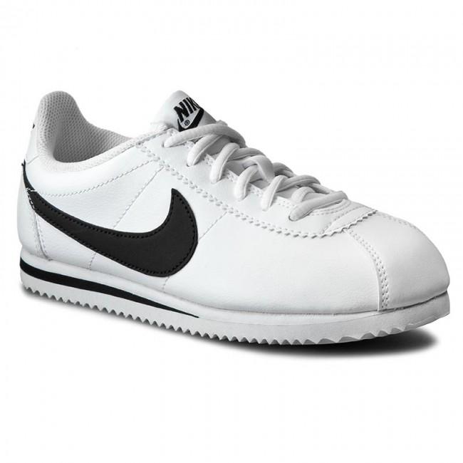 Cipők NIKE - Cortez (Gs) 749482 102 White Black - Sneakers - Félcipő ... 3a5150aa6f