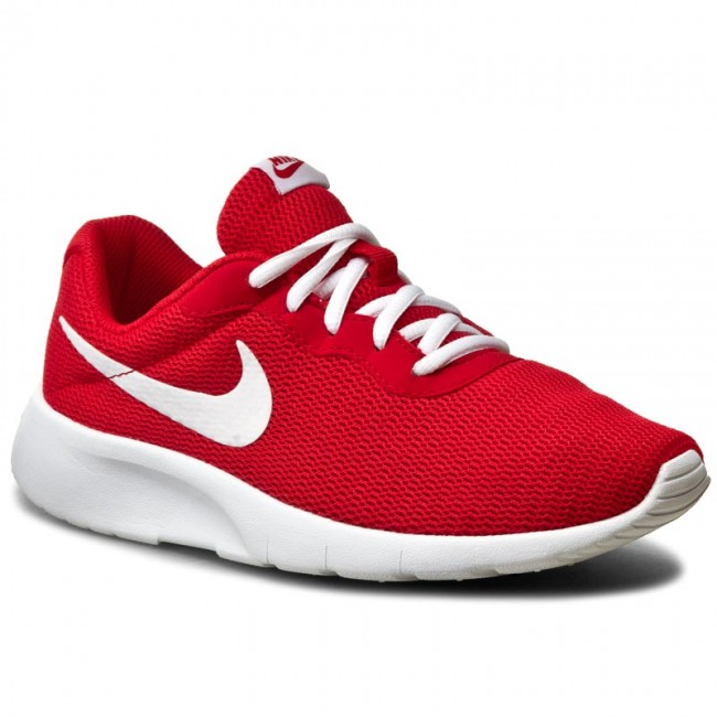 Cipők NIKE - Tanjun (GS) 818381 600 University Red White - Sneakers ... 92ed323802