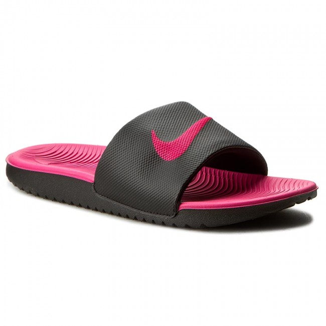 e38023aa9c Papucs NIKE - Kawa Slide (Gs/Ps) 819353 001 Black/Vivid Pink ...