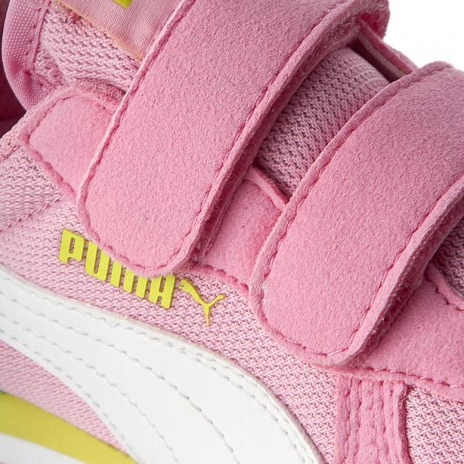613928f53083 Félcipő PUMA - Cabana Racer Mesh V Ps 360245 24 Prism Pink/Puma White
