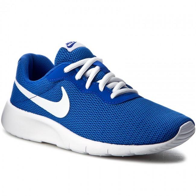 f0f761b96704 Cipők NIKE - Tanjun (GS) 818381 400 Game Royal/White - Sneakers ...