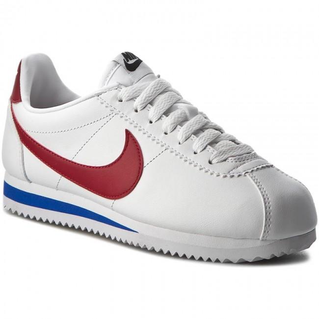 d3d9f9dc00 Cipők NIKE - Classic Cortez Leather 807471 103 White/Varsity Red ...