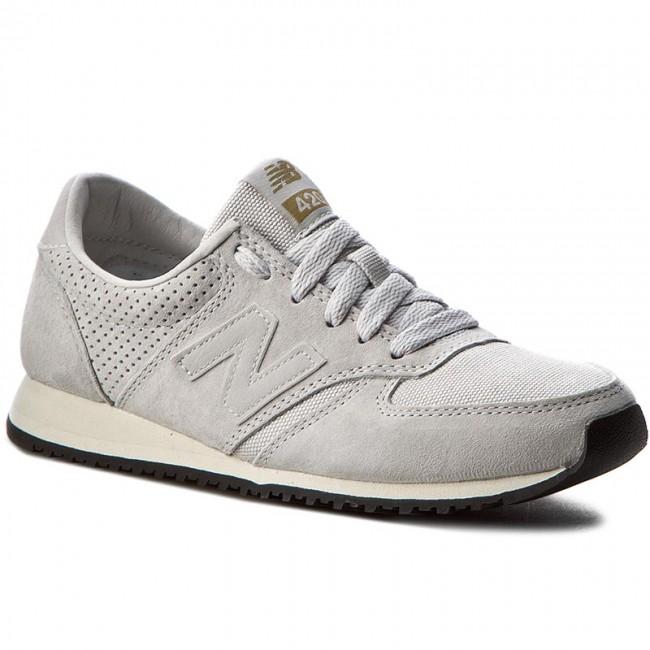 Sportcipő NEW BALANCE - U420PWT Szürke - Sneakers - Félcipő - Női ... e503dcc265