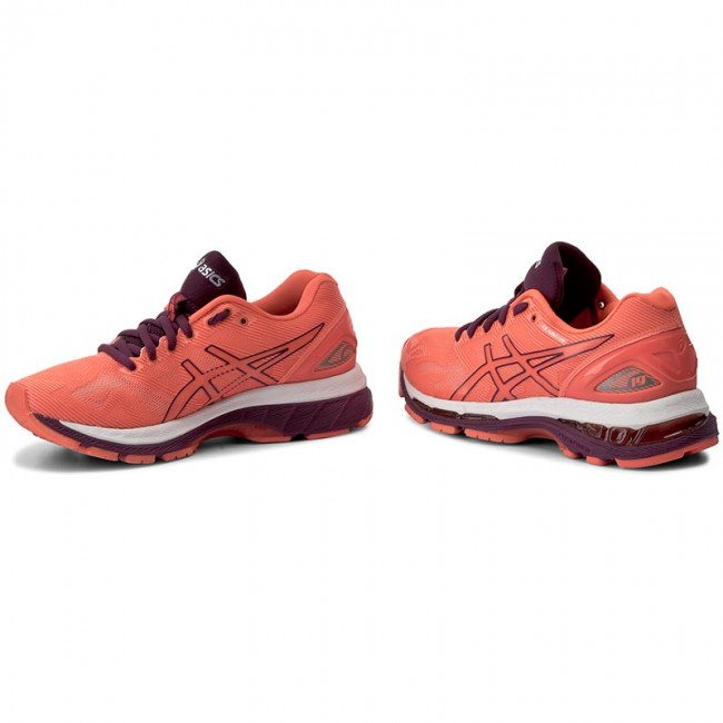 Cipők ASICS - Gel-Nimbus 19 T750N Flash Coral Dark Purple White 0632 ... f3bbca664a