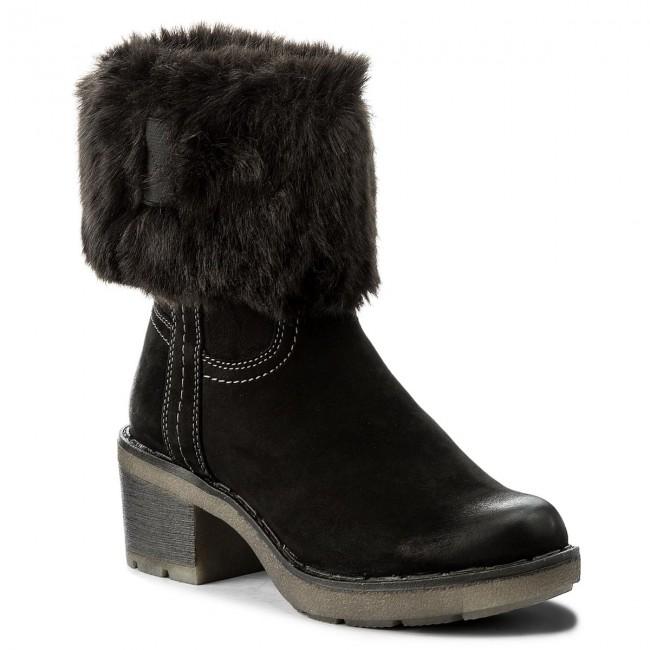 Magasított cipő TAMARIS - 1-26449-29 Black 001 - Magasított cipők ... 326bf15b17