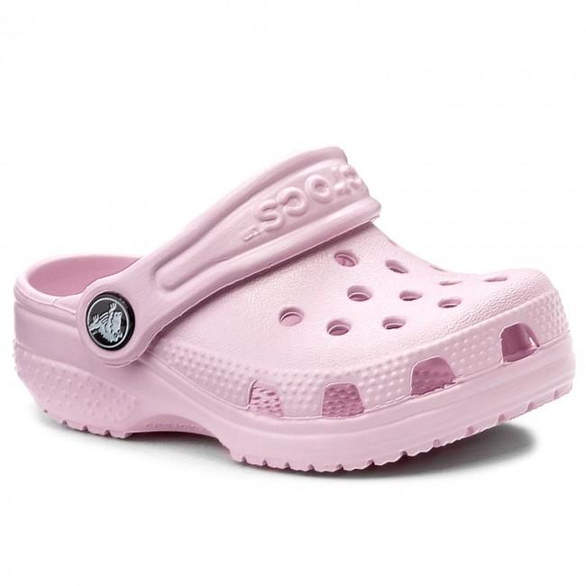 Papucs CROCS - Littles 11441 Ballerina Pink - Papucsok - Papucsok és ... 8563db57f8